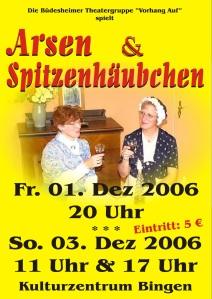 2006_Arsen und Spitzenhäubchen