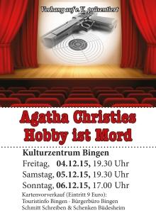 2015_Agatha Christies Hobby ist Mord