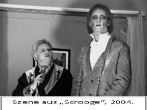 Scrooge mit Beschriftung