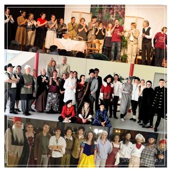Die Ensembles der Theaterjahre 2017 und 2019